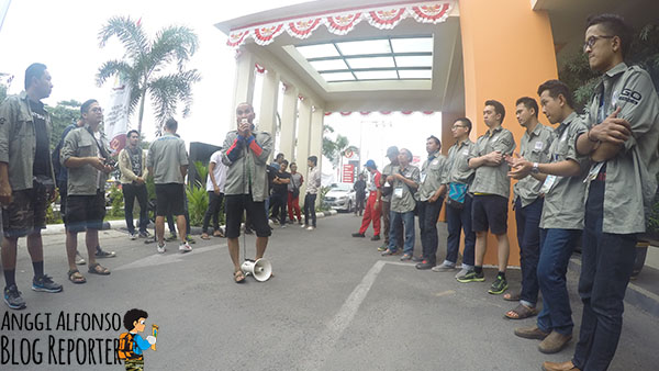 Briefing Datsun Risers Expedition Palu